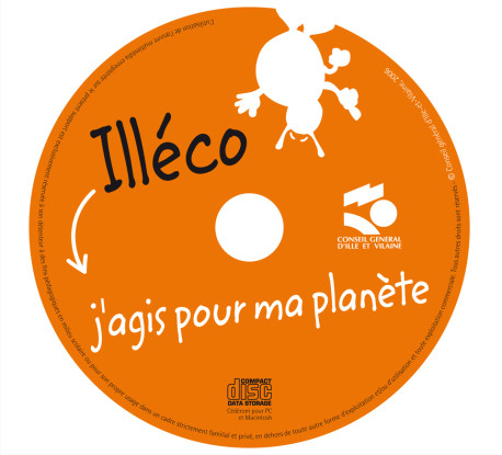 Illéco – Packaging — Galette cd